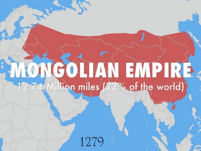 The history and rulers of the mongolian empire