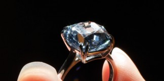 The Blue Diamond by Sotheby