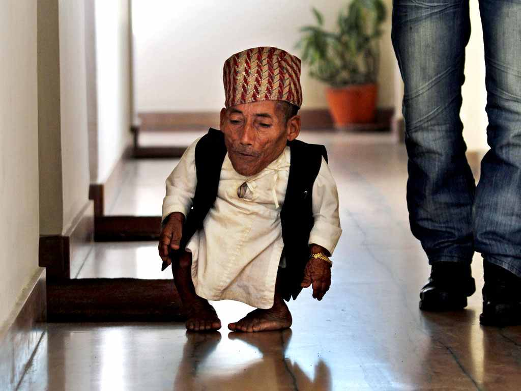 smallest man in the world