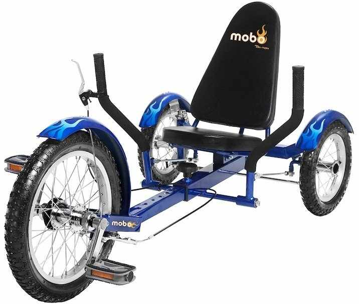 Mobo Triton Ultimate 16-inch Three Wheeled Trike