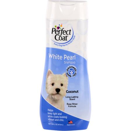 8 in 1 Perfect Coat White Pearl Shampoo for Dogs