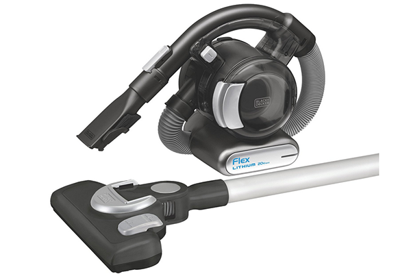 The Flex Vac From Black U0026 Decker Is A Cordless Vacuum That Cleans Pretty  Much Any Surface. Lightweight And Maneuverable, This Vacuum Can Clean Floors,  ...