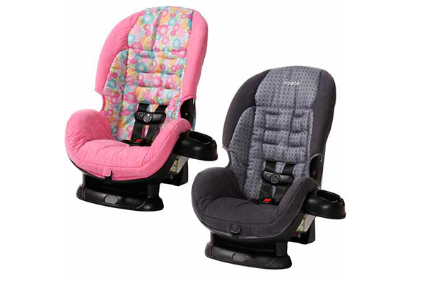 Cosco Scenera Convertible Car Seat 5 Point Clementine