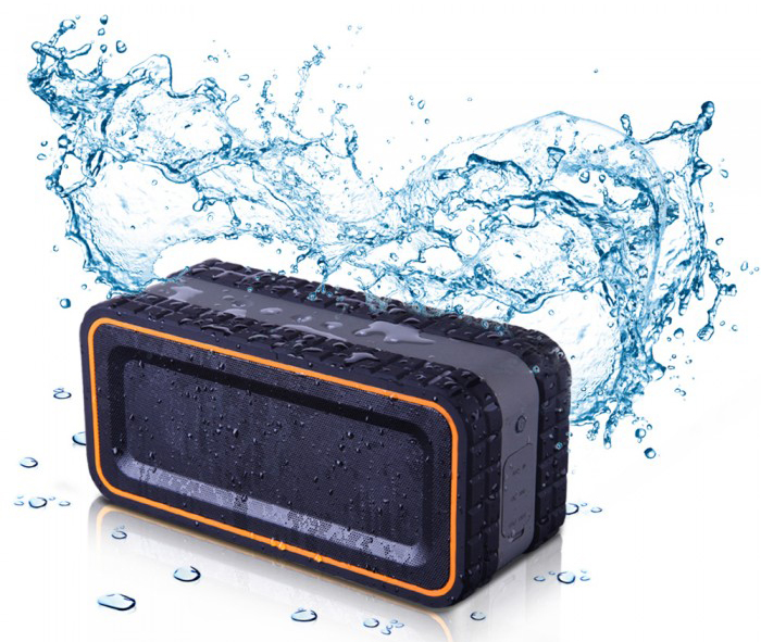 A Water Resistant Wireless Bluetooth Speaker