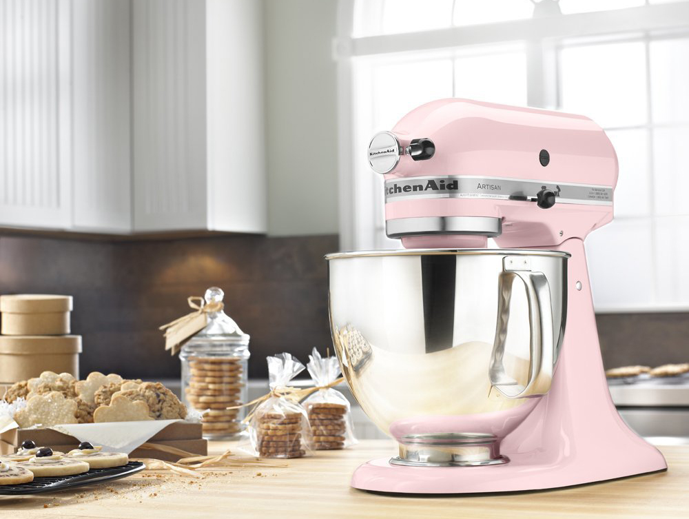 KitchenAid Artisan Series Tilt-Head Stand Mixer with Pouring Shield