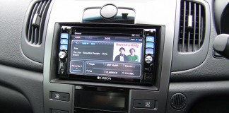 double din head unit
