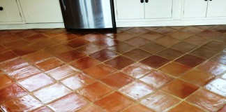 vacuum tile floors