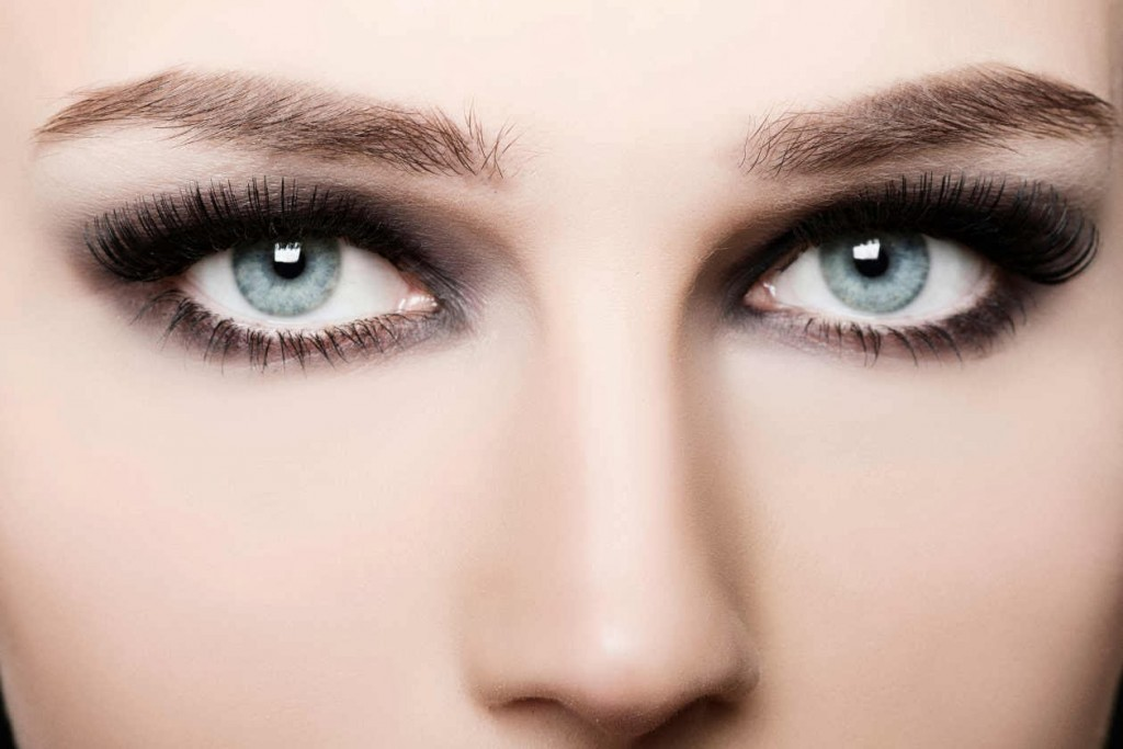 Eye Makeup For Grey Eyes From Multicolored To Deep Steel