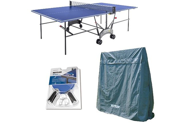 Kettler Outdoor Table Tennis Table Is A Weatherproof Sealed Aluminum  Composite Tournament Table With A Proprietary ALU TEC Climate Control  Feature Underside ...