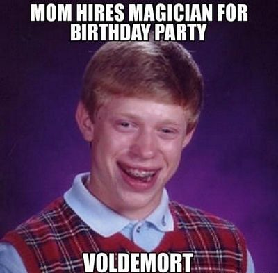 Bad Luck Brian Birthday Meme