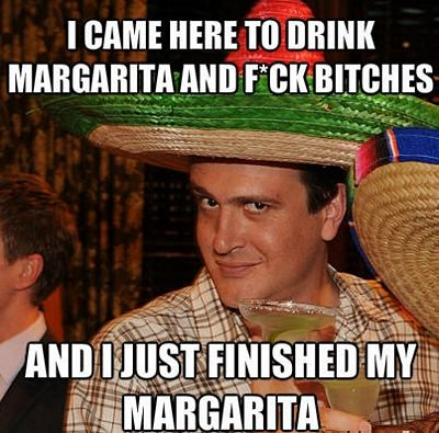 Finished My Margarita