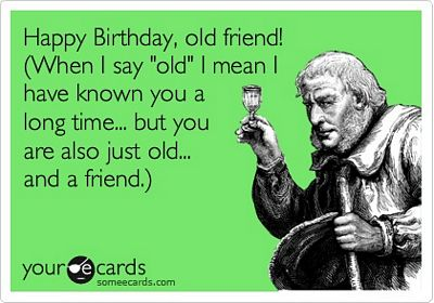 Funny Birthday E-Card