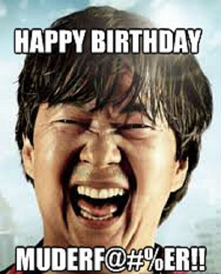 Happy Birthday From Chow