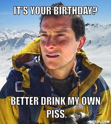 It's Your Birthday Piss
