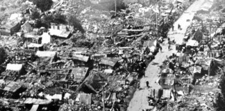 Haiyuan earthquake - China 1920 - 240,000 death toll
