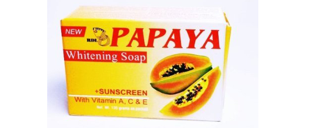 Papaya soap lighten skin
