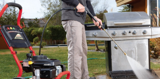 gas powered pressure washers