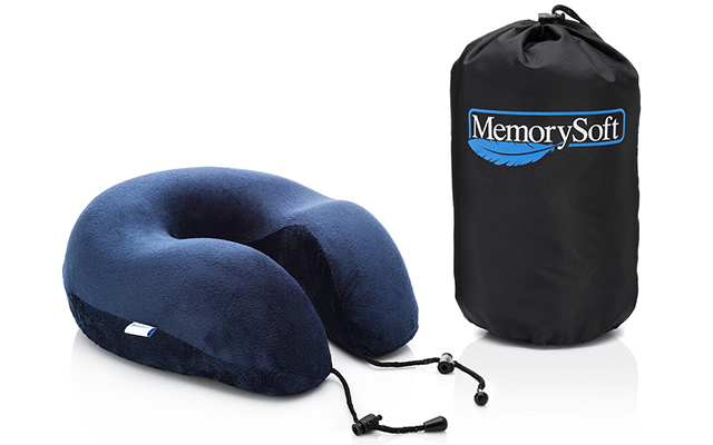 Luxury Travel Neck Pillow by MemorySoft