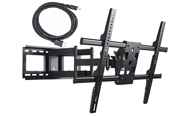 5VideoSecu MW380B2 Full Motion Articulating Dual Arms TV Wall Mount Bracket - Top 10 Best TV Wall Mounts Of 2017 €� Reviews - PEI Magazine