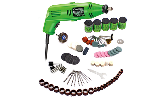 Kawasaki  Piece Rotary Tool And Accessory Kit