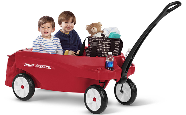 top 10 best pull along wagons for kids of 2017 reviews pei magazine. Black Bedroom Furniture Sets. Home Design Ideas