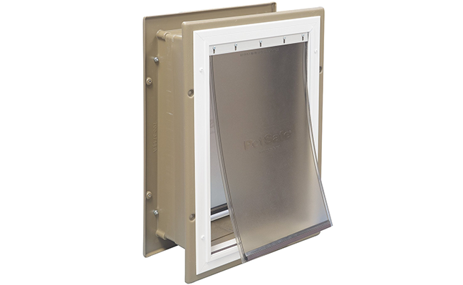 PetSafeu0027s Wall Entry Aluminum Pet Door Gives Your Pet Inside Or Outside  Access Through Any Interior Or Exterior Wall Instead Of A Door Like Most Dog  Doors.