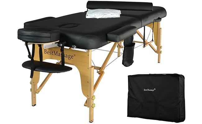 Top 10 best professional portable massage tables of 2017 reviews pei magazine - How much is a massage table ...