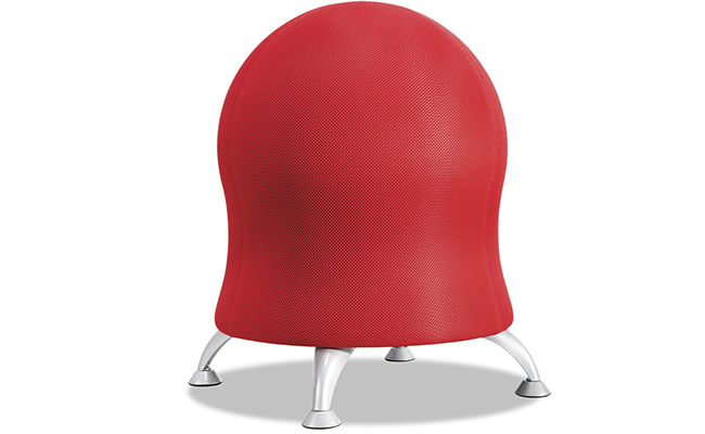 The Zenergy Ball Chair From Safco Products Features A 23 Inch Anti Burst  Plastic Exercise Ball Designed To Be As Comfortable As Possible.