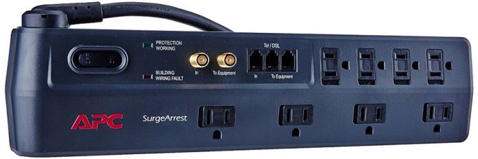 This Is More Than The Usual Surge Protector As It Also Allows Audiovisual Links Well Dsl And Phone Line Splitter For Maximum Protection