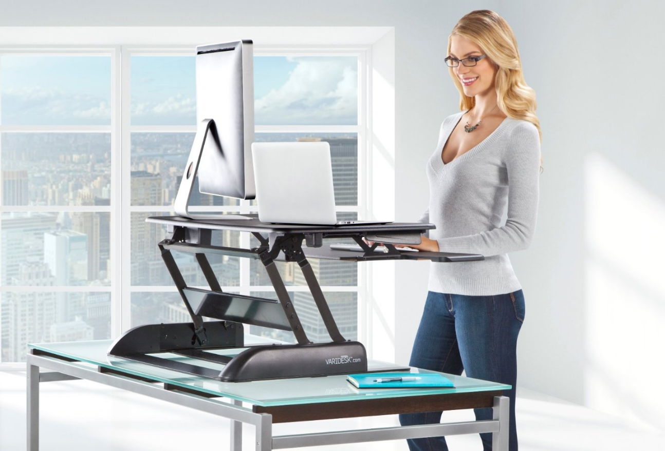 Stand Up Desk Conversion Xelite Pro Xl36 Sit Stand