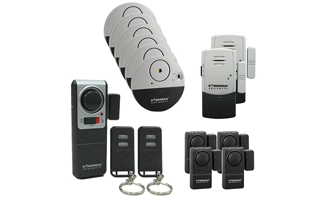 Combining The Latest Technology And Outstanding Performance, The Doberman  Alarm System Is A Must Have. This Security System Is Easy To Install And  Provides ...