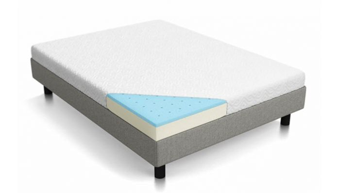 the lucid memory foam mattress promises a therapeutic nightu0027s sleep with its comfortable but firm design the certipurus certified foam mattress is safe - Therapeutic Mattress