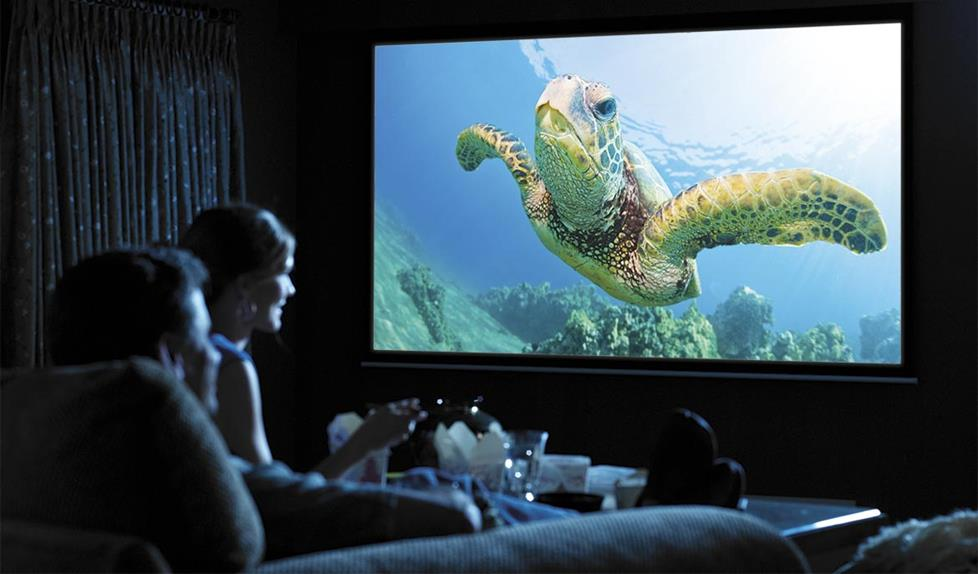 Top 10 Best Projector Screens Of 2017 Reviews Pei Magazine