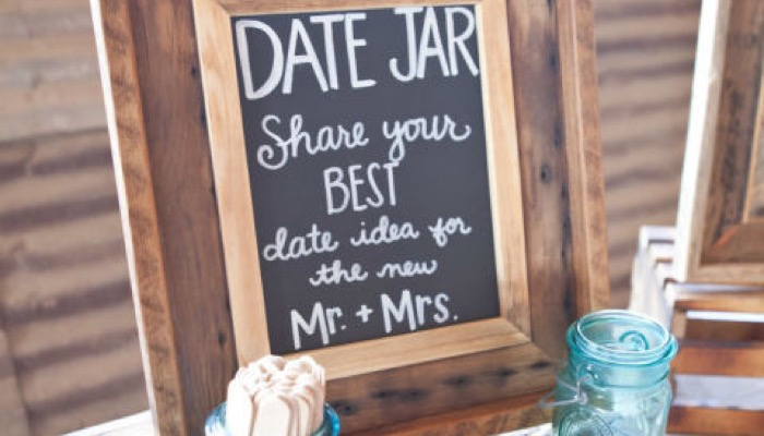 Bring Them To The Bridal Shower And Allow Guests Write Their Own Date Night Ideas As One Of Your Activities It S A Great Idea That